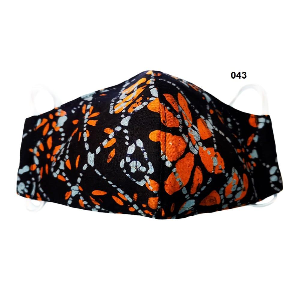 Batik Face Mask 043
